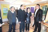 甘肅重點文化產業項目督查組視察敦煌文化創意產業園