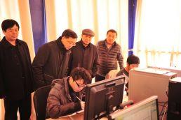 山东省文化厅副厅长薛庆国考察青岛动漫创作与人才培养