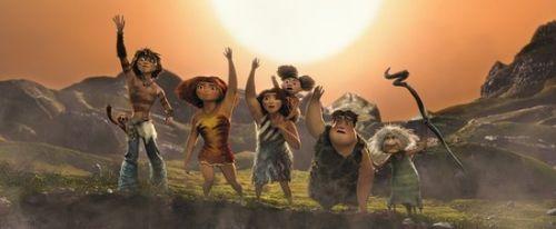 《原始人》内地票房超1.5亿 或成动画票房榜季军