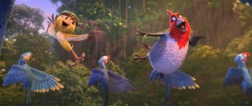 《里约大冒险2》幕后探秘 银幕画出热带雨林之美
