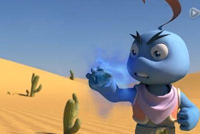 国产原创3D动画片《超能星》预告片发布