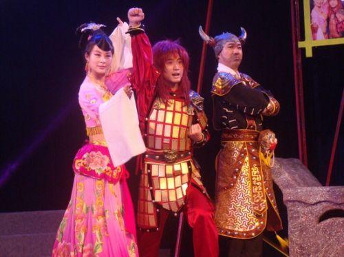 安徽省徽京剧院动漫剧再推新作  《孙悟空大战红孩儿》在肥热演
