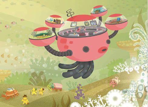 儿童海洋探险动画《海底小纵队》将在国内上星卫视轮播