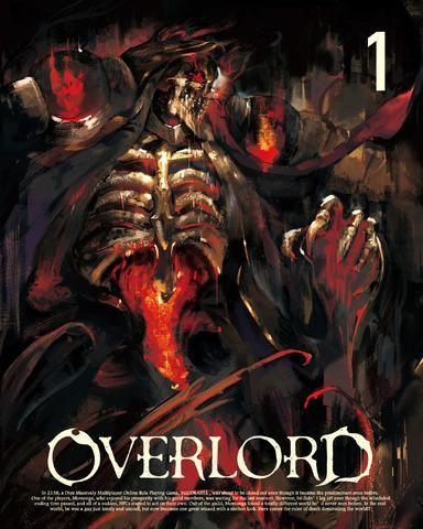 《OVERLORD》影碟情报 第1卷展开图