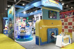"""咏声动漫携""""猪猪侠""""参加第31届广州国际玩具及教育产品展览会"""