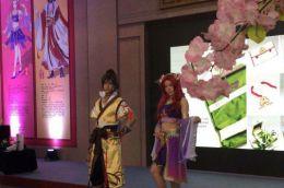 石家莊動漫博覽會開幕 以國風動漫為主題
