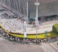 第十五届中国国际动漫游戏博览会迎来周末大客流
