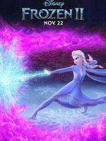 迪士尼動畫電影《冰雪奇緣2》曝光角色海報