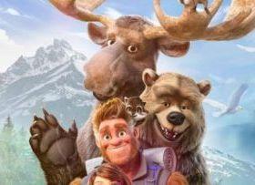 动画电影《我的爸爸是森林之王 2》发布首张中文海报